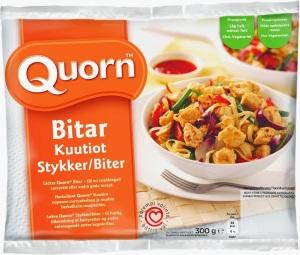 Quorn-Bitar